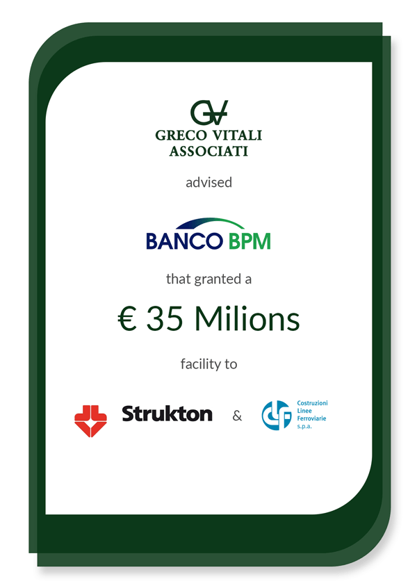 Our Banking & Finance team assisted Banco BPM S p a  | GVA